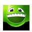 {green}:grinning: