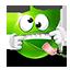 {green}:razz: