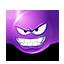 {violet}:evil: