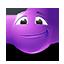 {violet}:face: