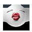 {white}:kiss: